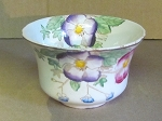 Arthur J. Wilkinson Ltd Floral Cranberry Bowl