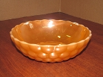 Anchor Hocking Glass Co Peach Lustre 8 3/8