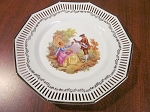 NC Bavaria Pierced Dinner Plate
