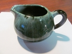 Blue Mountain Pottery Green Creamer