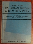 The New Canadian School Geography