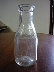 North Side Dairy Milk Bottle - Welland, Ontario - Canada