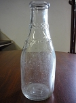 Borden's Dairy Glass Milk Bottle