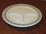 Buffalo Pottery Divided Dinner Plate