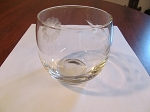 W.J. Hughes Corn Flower Glass 5 oz Cocktail Tumbler