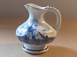 Delft Blue Pottery Jug