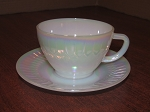Federal Glass Co. Cup & Saucer
