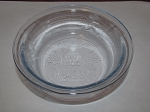 Anchor Hocking Glass Co Fire King Philbe Clear Shallow Custard Cup