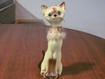 Giftcraft Siamese Cat Figurine #1 - Japan