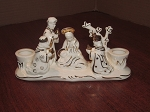 Holt Howard Ceramics Holiday Candle Holder