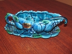 Inarco Blue Gravy Boat & Under Plate