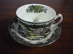 Johnson Bros Teacup & Saucer The Friendly Village
