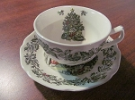 Johnson Bros Ironstone Teacup & Saucer