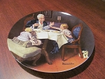 Edwin M. Knowles Norman Rockwell Collector Plate