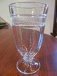 Martha Stuart Pressed Glass