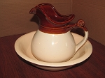 McCoy Pottery LLC Pitcher & Wash Basin # 7515