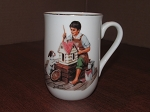 Made In Japan Norman Rockwell Museum Mug