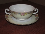 Paul Muller Porcelain Cream Soup Bowl