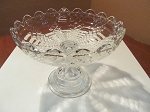 US Glass Co Pressed Glass Compote