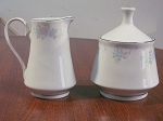 Prestige China Creamer & Sugar Bowl