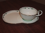 A.B. Jones & Sons Royal Grafton Teacup & Biscuit Plate