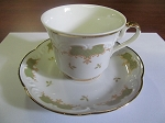 Royal China Teacup & Saucer - Bavaria Germany