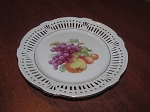 Schumann & Schreider Perforated Bread & Butter Plate