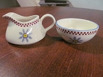 Shannonbridge Potteries Creamer & Sugar Bowl - Ireland