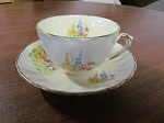 Sovereign Potters Earthenware Teacup & Saucer