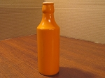 Takahashi Orange Bottle Bud Vase - Japan
