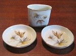 Rosenthal Thomas Porzellan Cigarette Holder & Ashtray Set - Germany
