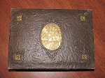 The W.T. Rawleigh Co. Leather Covered Cigar Box