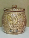 Made In Japan Rooster Barrel Cookie Jar - Japan