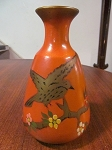 Made In England Hand Painted Ceramic Vase
