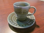 Wade Heath & Co Ltd Irish Porcelain Occasional Cup & Saucer