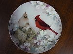 W.L. George Fine China Collector Plate